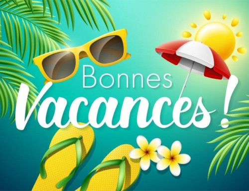 Très bonnes vacances à toutes et à tous. N'oubliez-pas de déclarer vos enfants à charge avant le 30 juillet 2021 !