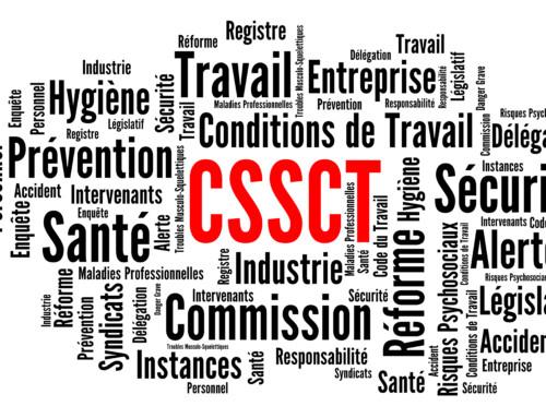 COMMISSION SANTÉ, SÉCURITÉ ET CONDITIONS DE TRAVAIL  (CSSCT – TOURS SG – BASALTE – HAUSSMANN – 94 PROVENCE)